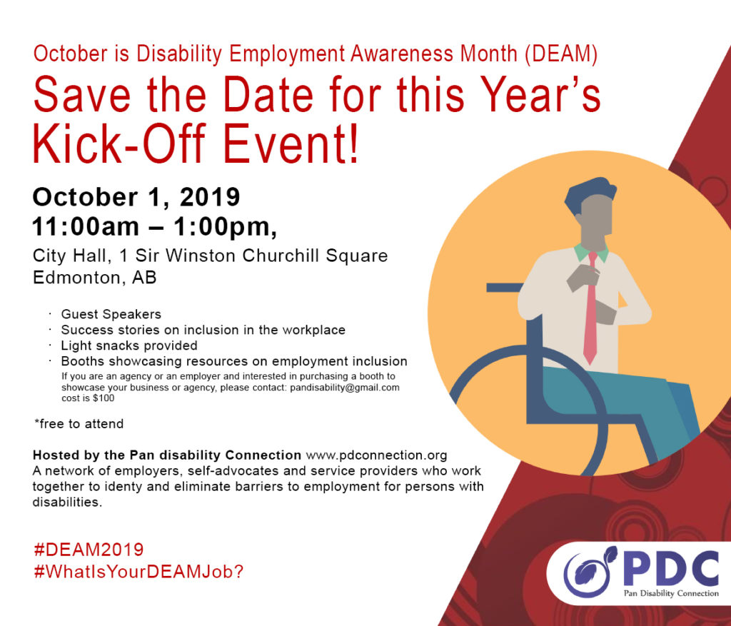 DEAM Kick off Save the Date 1024x877 - Disability Employment Awareness Month (DEAM)